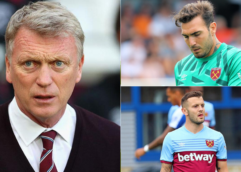 Eight West Ham players David Moyes should let go this summer